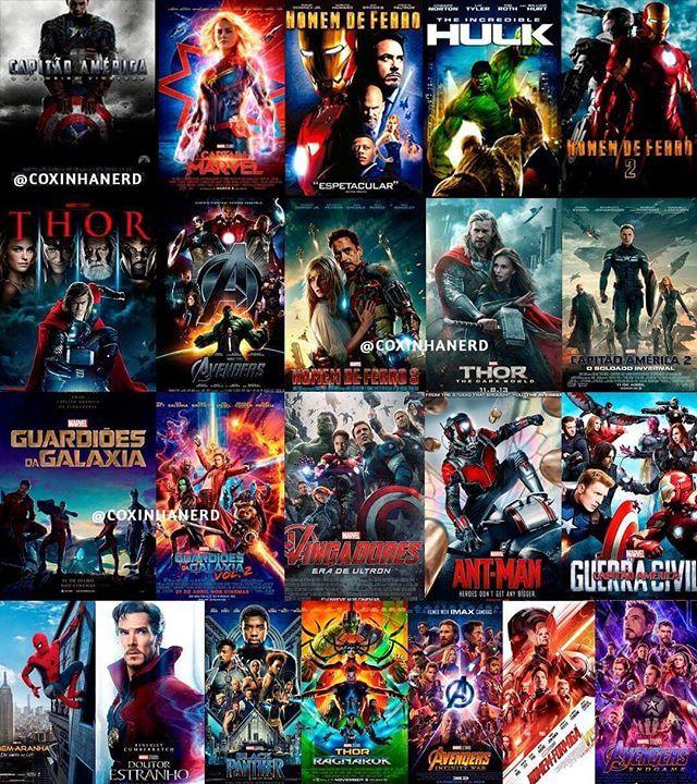 Hoje Comeca Nossa Jornadaultimato Bora Assistir 21 Filmes Ate O