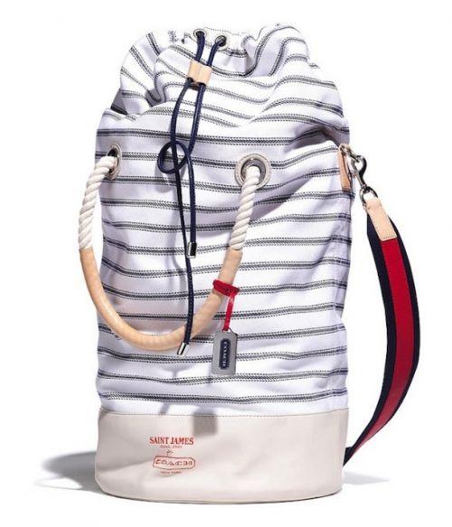 В морском стиле. Коллаборация Saint James и Сoach / Мода / trendy