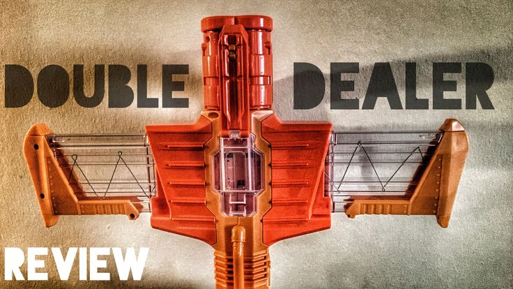 Hey guys! This is Blee from Nerf Gun Attachments (dotcom). Here today, we will be doing an unboxing, review, and firing test of the new Nerf Doomlands Double Dealer.