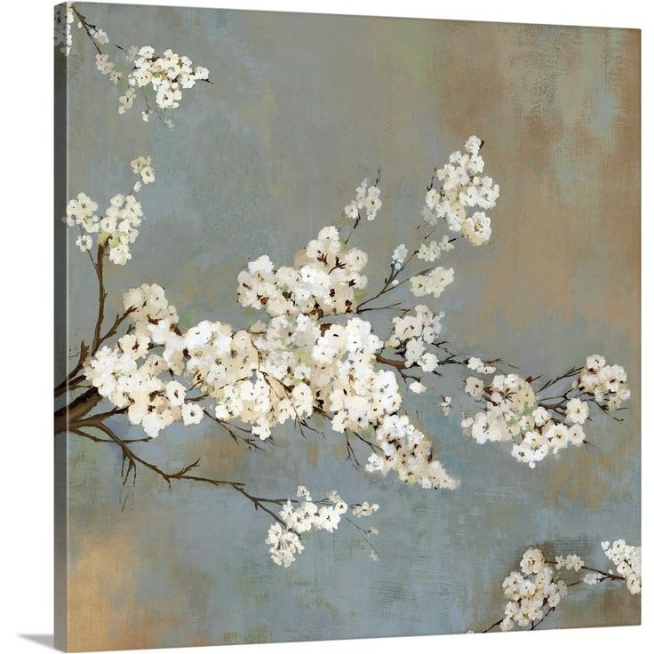 """""""Ode to Spring II"""" by Asia Jensen Canvas Wall Art"""