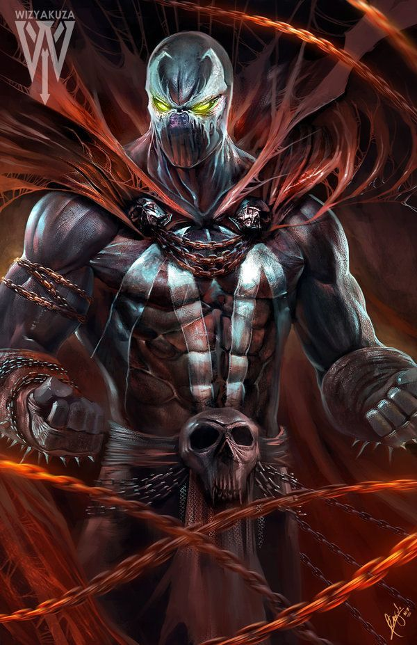 Spawn one of my favourite comic book characters by Todd ...