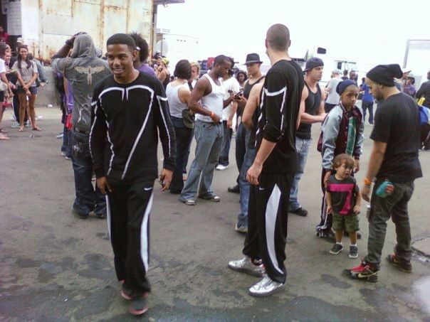 On the set of Step Up 3D