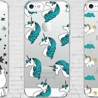 CLEARANCE! Phone Case: Unicorn - Teal Mane ~ iPhone 5/5s