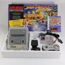 Super Nintendo Street Fighter II 2 Turbo Boxed Console Bundle - TESTED -SNES PAL