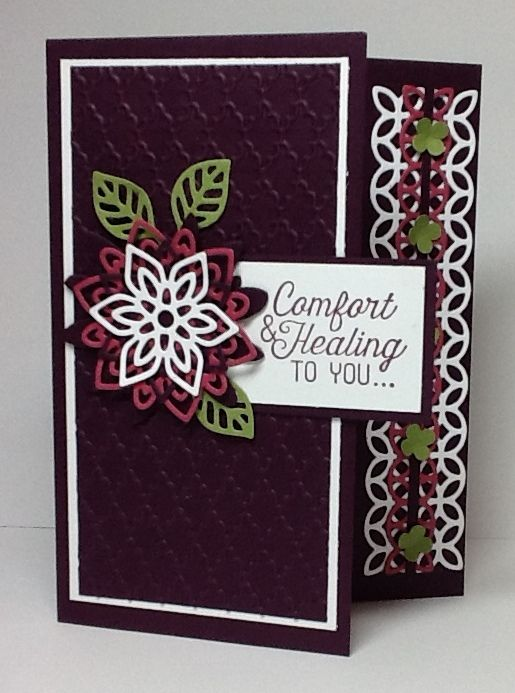 Comfort and Healing by razldazl - Cards and Paper Crafts at Splitcoaststampers