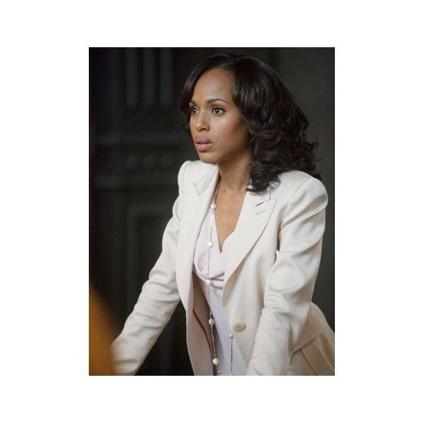 'Scandal's' Kerry Washington Olivia's Strength is Her Biggest Weakness ❤ liked on Polyvore