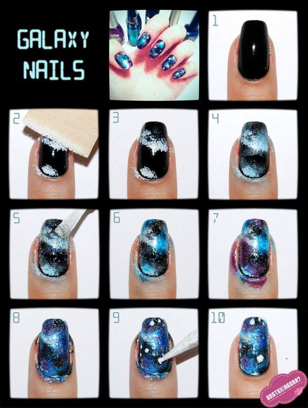 Tutorial Galaxy Nail