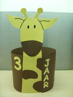 Verjaardagskroon: giraf
