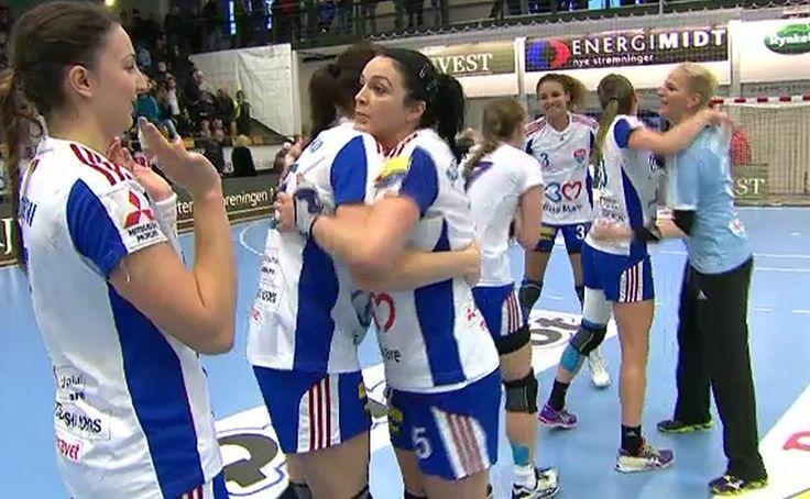**VIDEO** Viborg - HCM Baia Mare 30-31. Campioana României speră la calificare după un final incendiar