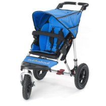 Out n About Single Nipper 360 V3 All-Terrain Baby Pushchair (Lagoon Blue)
