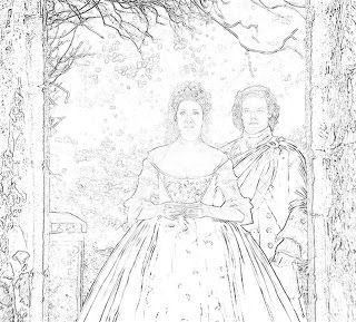 The Art That Inspires Writers And Readers Outlander Coloring Pages Un Official Book 2015 Holiday Edition
