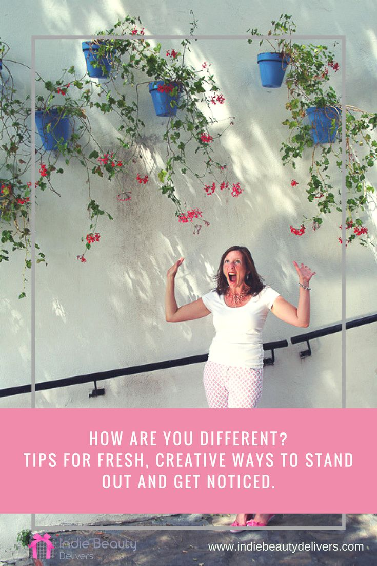 Its not enough to be green or organic anymore. To stand out and get noticed and make those valuable sales you need to be fresh and creative. Read on for my top 3 'GET NOTICED' methods.