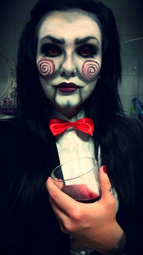billy the puppet from saw wwwfacebookcomlilokiin spooky halloweenhalloween - Quick Scary Halloween Costumes
