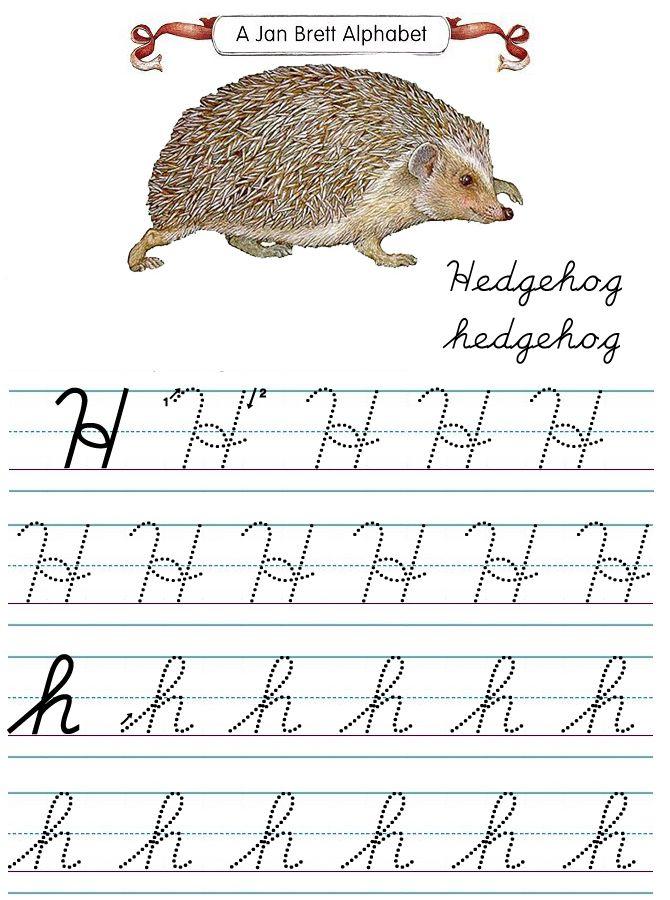 The 76 best 2nd grade cursive images on Pinterest   Cursive writing ...