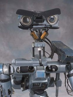 Johnny Five is alive!!! Love this movie, just recently watched it...it had been a good fifteen years. Short circuit.
