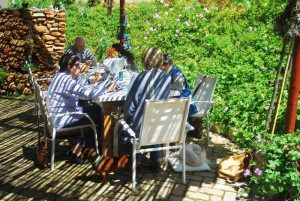 Gourmet braai - first Sunday of every month at Wild Thyme Restaurant