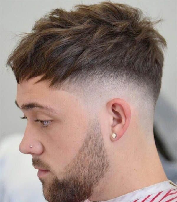 The Bangs - Undercut Hairstyles For Classy Men #Menshairstyles,  #Bangs #Classy #hairstylesfo...