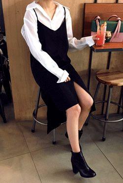 #dailylook #fashion #womanfashion #ootd #style #white #dress #black #blackdress #lookbook #womanstyle #bustier