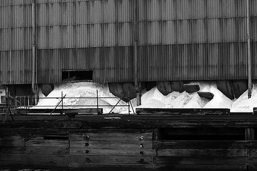 Runcorn Salt Works (Ineos) - A range of salt products are produced here at the Runcorn plant.