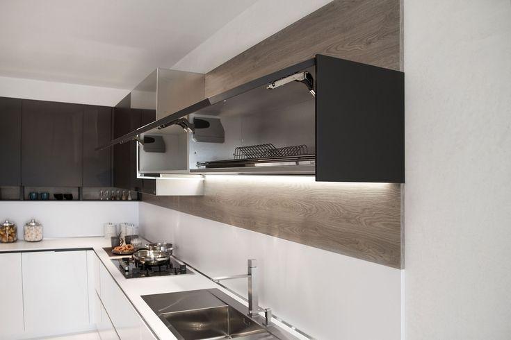 Orange Evolution | Collection System | Elegant Kitchens from Snaidero