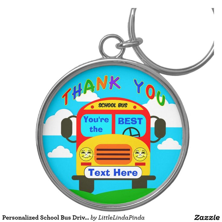 ... call linda to create a custom gift for bus drivers see more pin 1