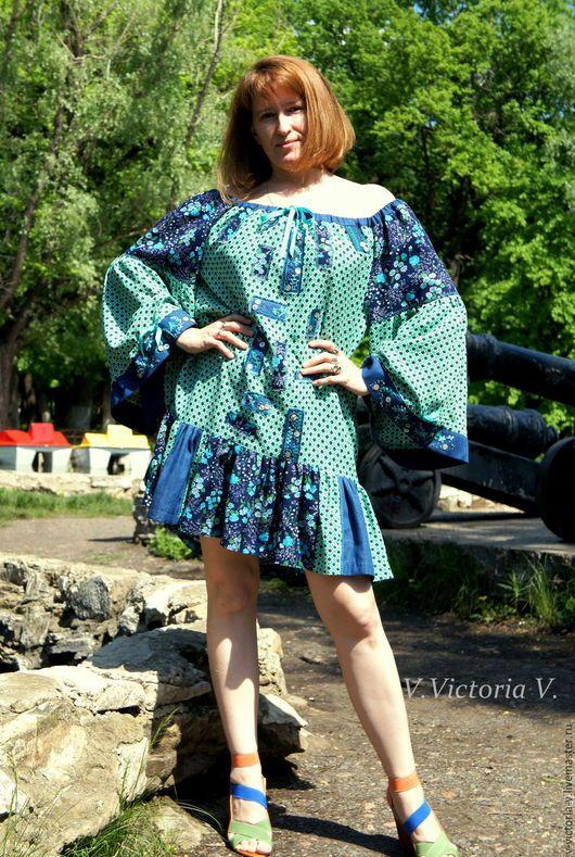 Платья ручной работы. Заказать Бохо-платье