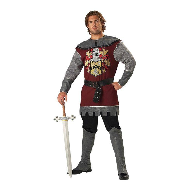 Halloween Men's Noble Knight Costume Medium, Variation Parent