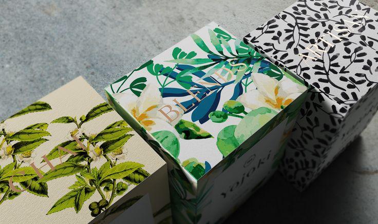 Ознакомьтесь с этим проектом @Behance: «Yojoki Tea» https://www.behance.net/gallery/43882531/Yojoki-Tea