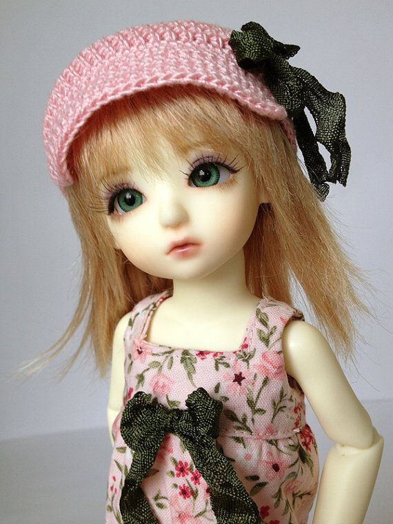 Dress Outfit for 1/6 Yosd BJD in Pink Floral by AdrianneInspired, $26.00