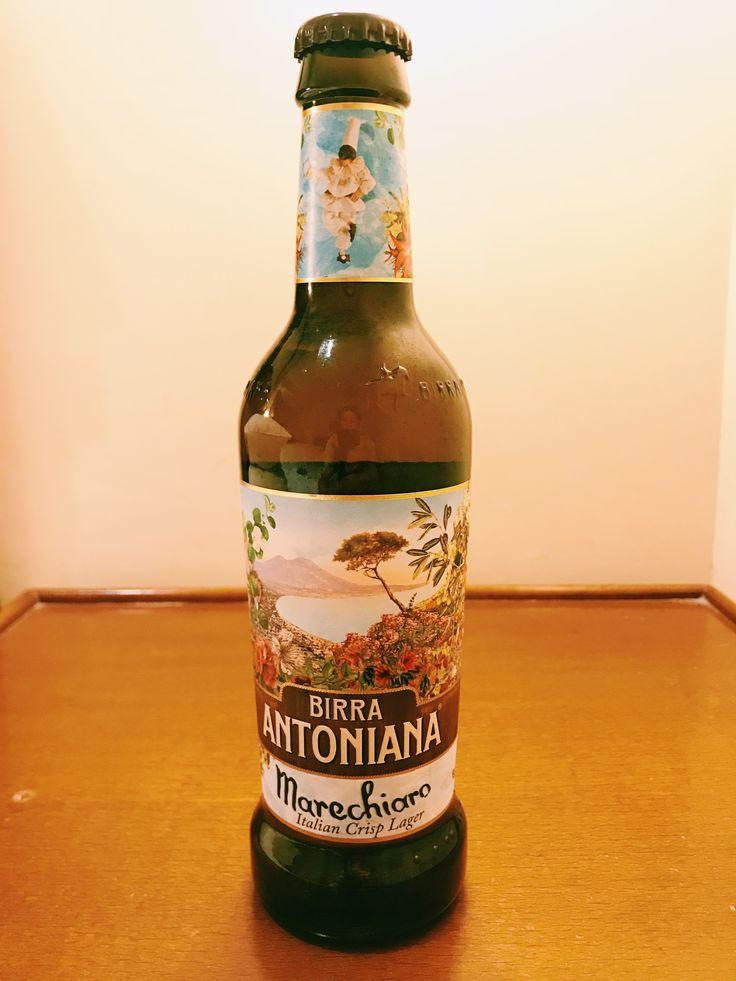 BIRRA ANTONIANA Marechiaro Italian Crisp Lager :Pale Lager Alc 5.2%