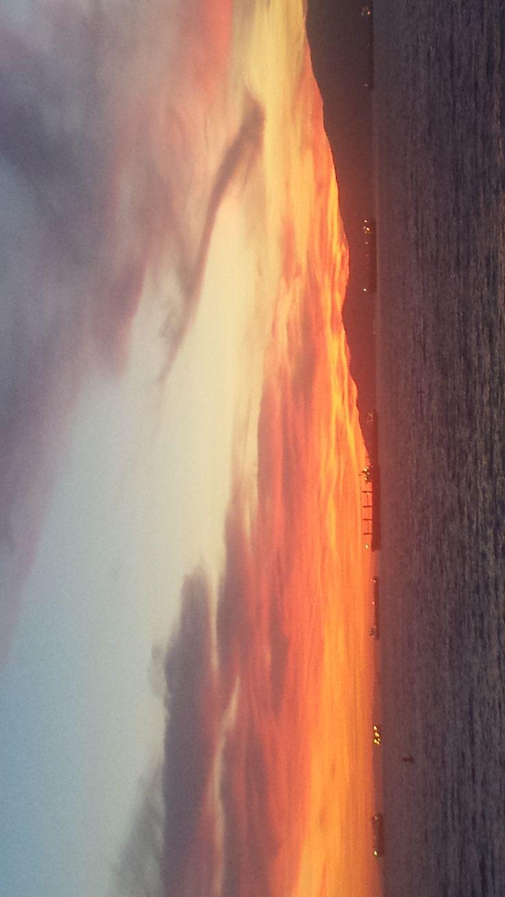Stunning sunset, eagle again dragon!