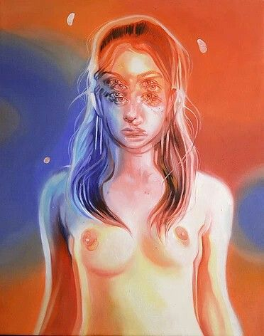 Painting by Alex Garant