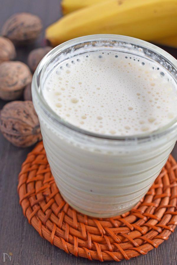 栄養素が豊富な「くるみ」と「バナナ」で元気をチャージ!