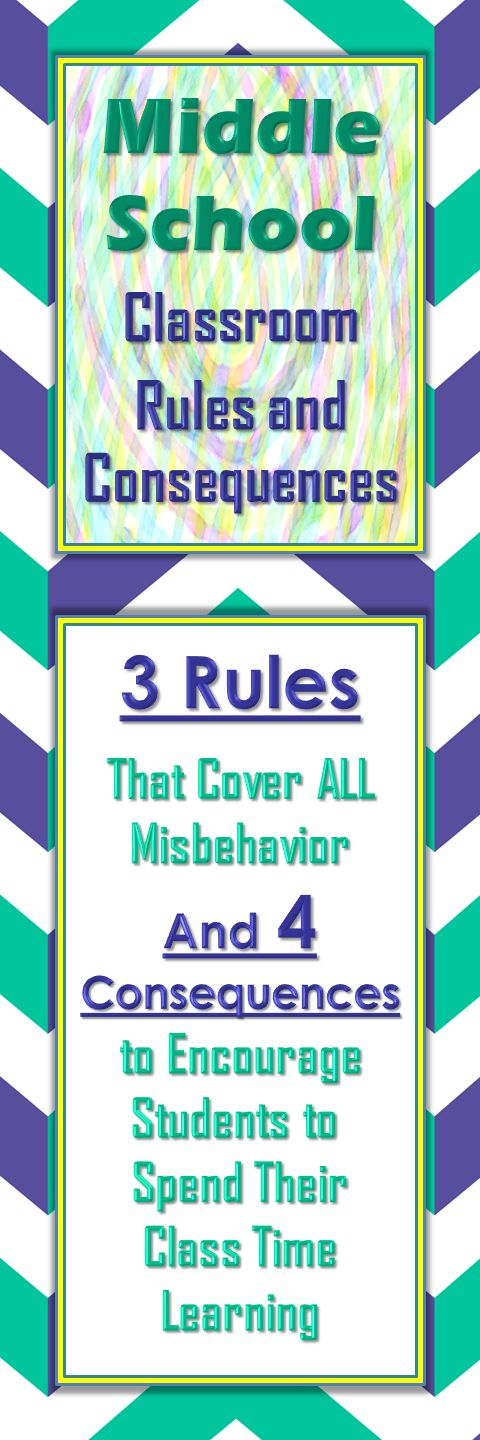 Classroom Rules Ideas ~ Helpful post about three simple classroom rules and