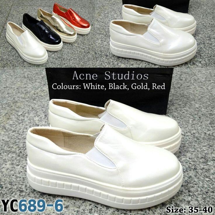 Sepatu Wedges Acne Studios YC689-6 35-40 335rb