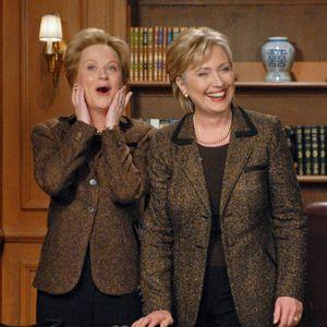 Amy Poehler & Hillary Clinton