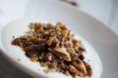 Honungsrostad lyxmüsli med smak av äpple och kanel
