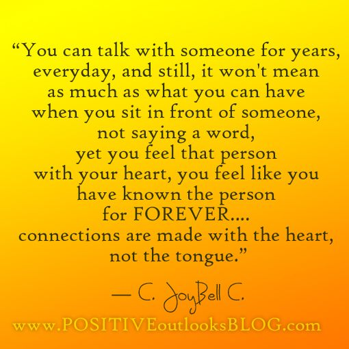Everyone Has That Person You Feel Like You Have Known