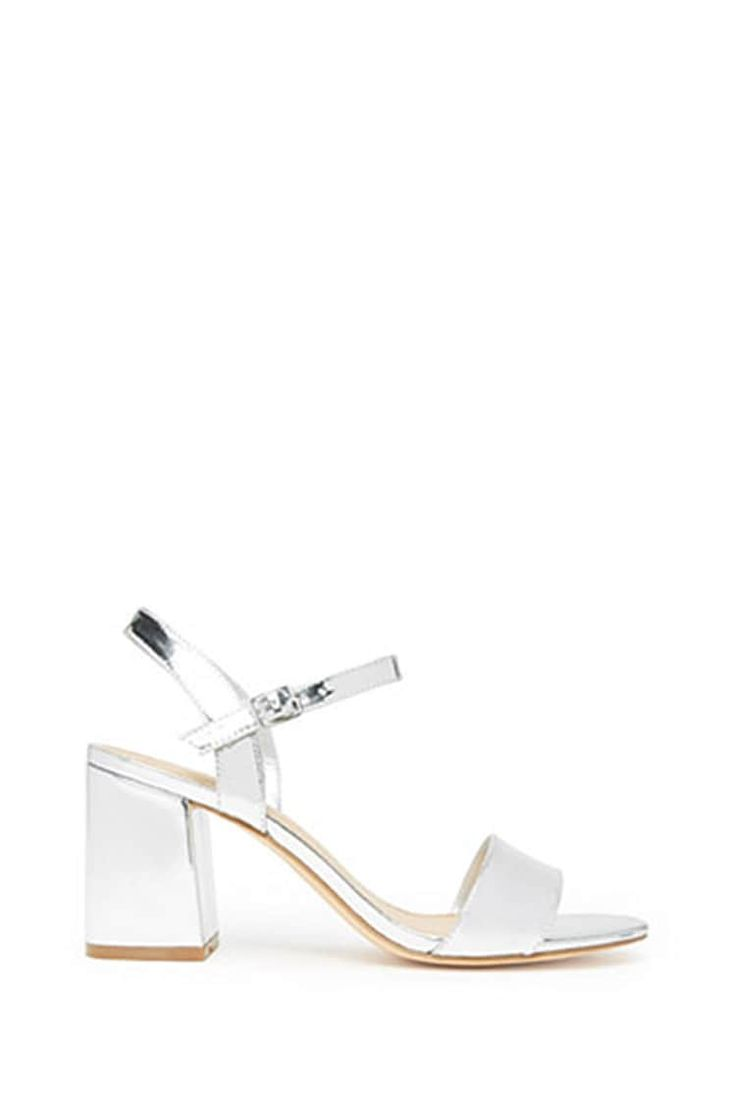 Product Name:Metallic Strappy Heels, Category:Shoes, Price:19.99