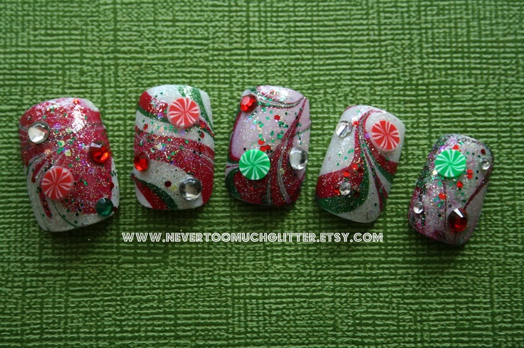 40 best Christmas + Holiday Nail Art by NTMG images on Pinterest ...