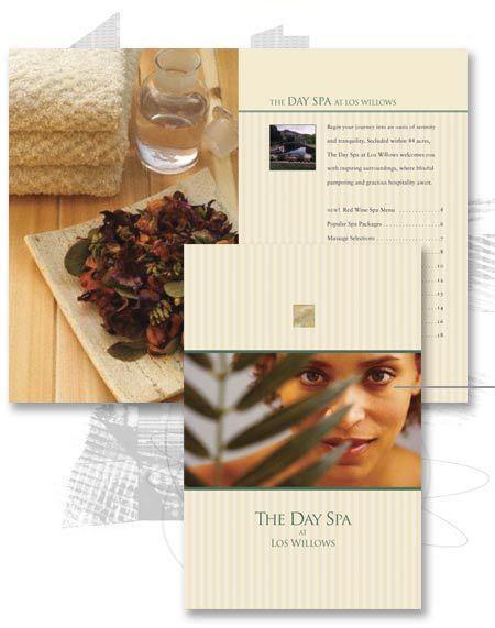 Nice spa brochure.  http://www.printingmallorca.com
