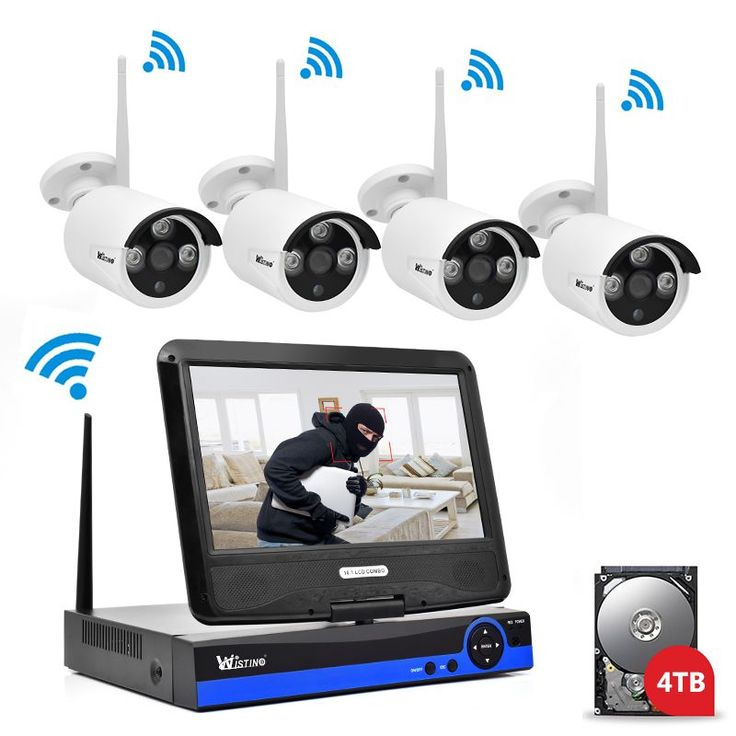Find More Surveillance System Information about Wistino 960P CCTV System Kit Wireless 4CH NVR Security IP Camera Wifi Outdoor P2P Monitor Kits IR LCD Screen Surveillance Camera,High Quality camera wifi,China camera wifi outdoor Suppliers, Cheap cameras camera from WISTINO Franchise Store on Aliexpress.com