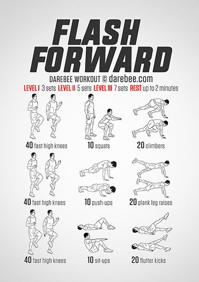 Flash Forward Workout | Posted by: AdvancedWeightLossTips.com
