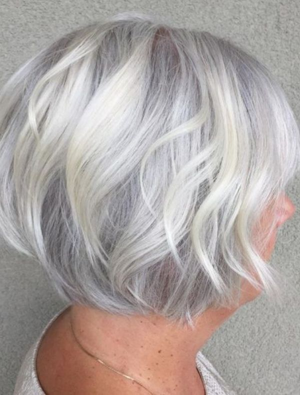 67 Inspiring Hairstyles For Women Over 50 2021 Stacked Bob Haircut Bob Haircut With Bangs Stacked Bob Hairstyles