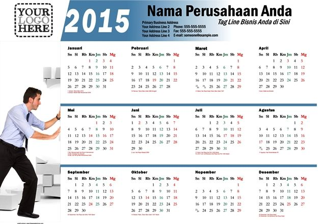 Kalender 2015 Indonesia - Design_07_Bars