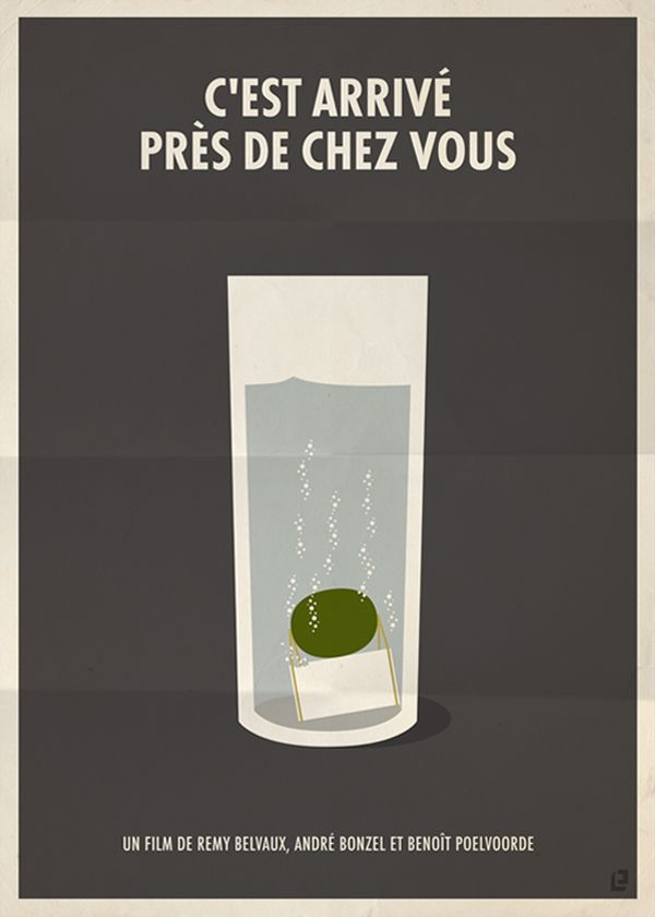 [Galerie] Affiches de films dans un style minimaliste  Photo                                                                                                                                                                                 Plus