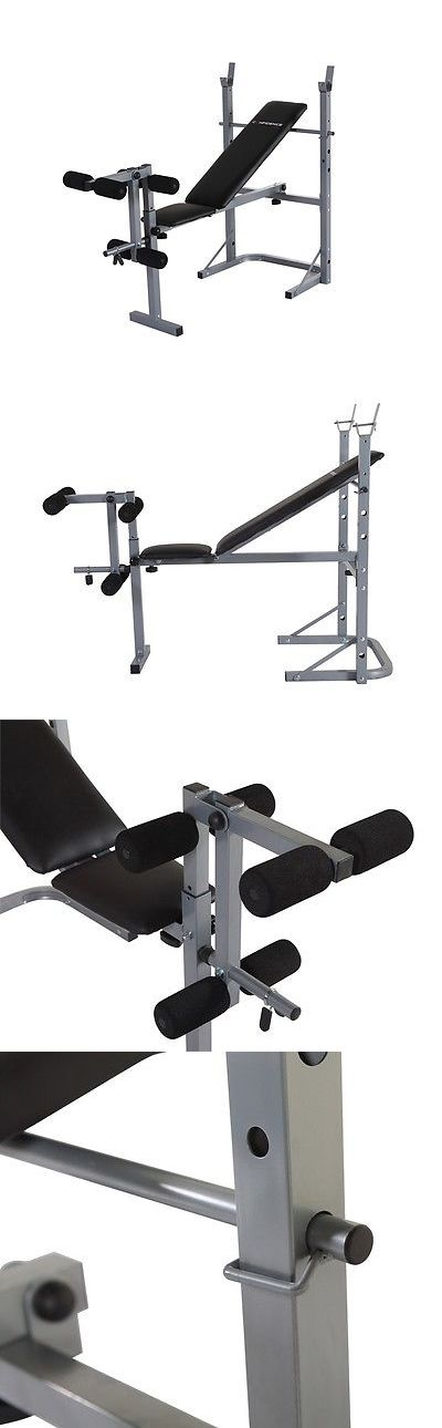 Benches 15281: Confidence Fitness Home Multi Gym Dumbbell Weight Lifting Bench W/ Leg Extension BUY IT NOW ONLY: $59.99