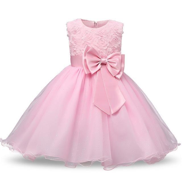 Girls Bridesmaid Dress Baby Flower Kids Party Birthday Wedding Dresses Princess