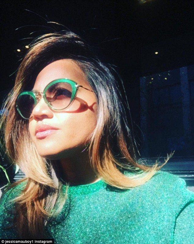 Jessica Mauboy flaunts glossy pout on Instagram days after 'airbrushing' controversy | Daily Mail Online