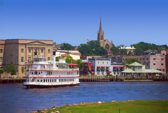 Wilmington, NC -- so many shows & movies have been filmed here! Dawson's Creek, OTH, A Walk to Remember, and more.